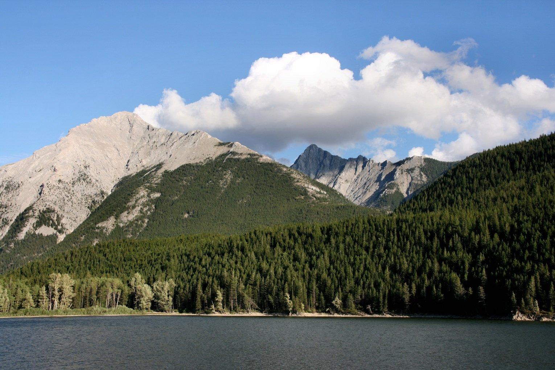 Coleman Alberta hotels Canadian Rocky Mountains landscape near Crowsnest Pass
